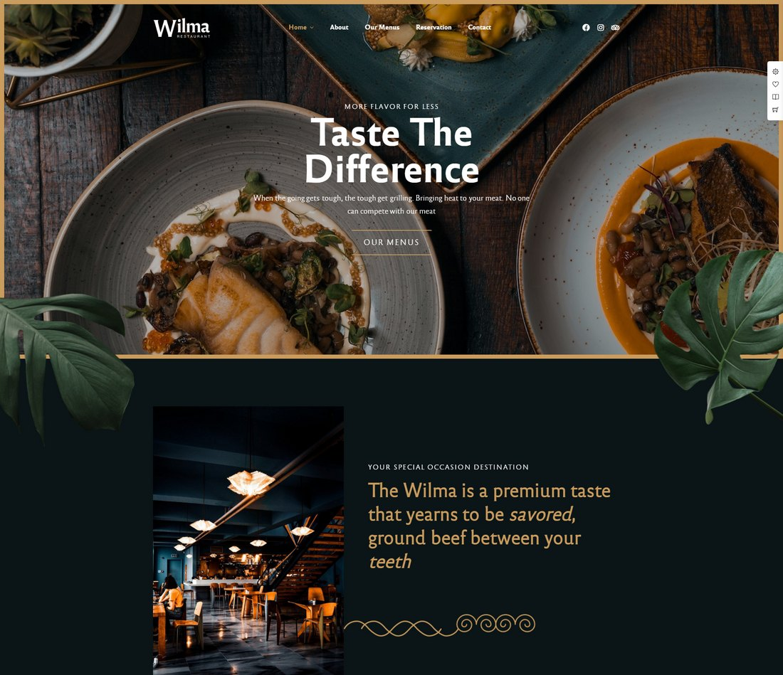 tema wp restoran besar
