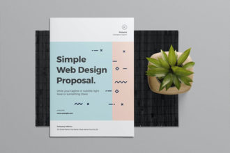 20+ Best Graphic Design & Website Proposal Templates 2020