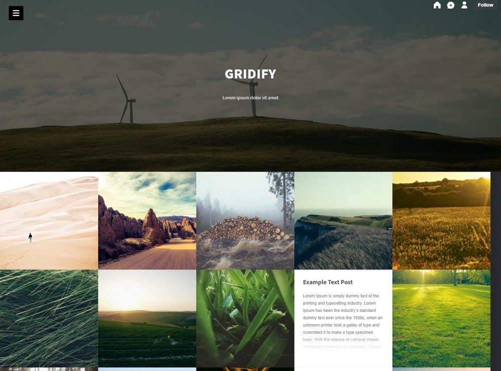 gridify-tumblr-theme