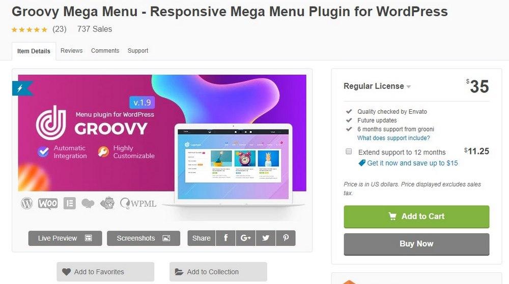 groovy mega menu