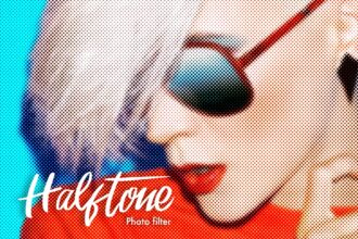 20+ Best Halftone Effects for Photoshop (Color Halftone Brushes, Actions & Filters)