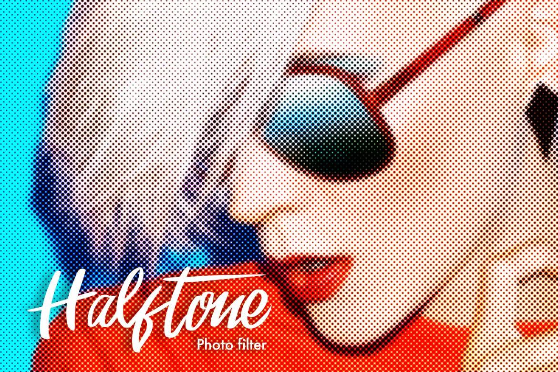 halftone photoshop