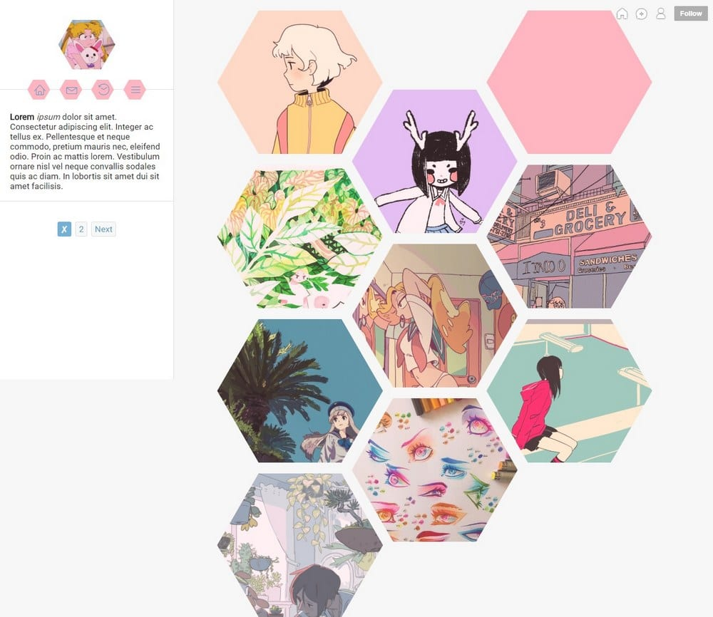 honeycomb-tumblr-theme