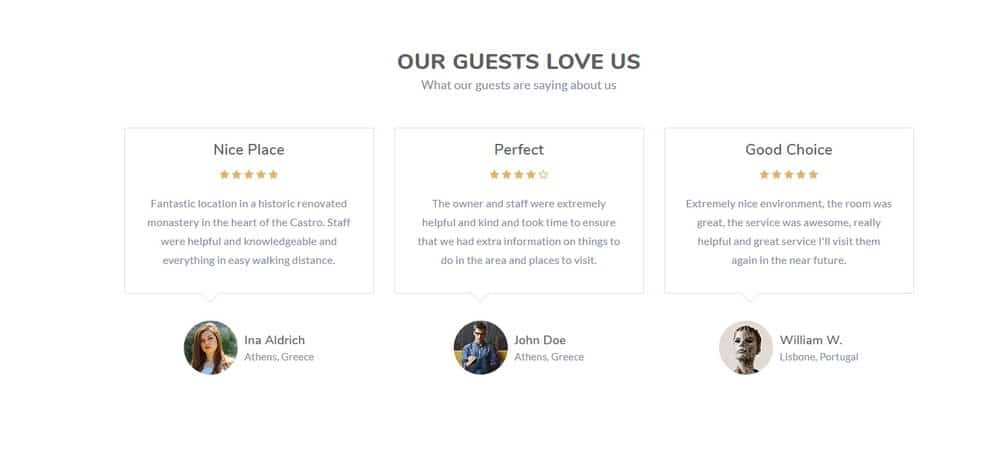 hotel-testimonials