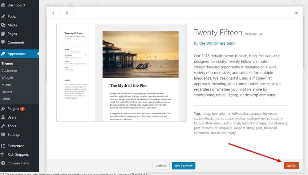 how-to-delete-WordPress-Theme-2