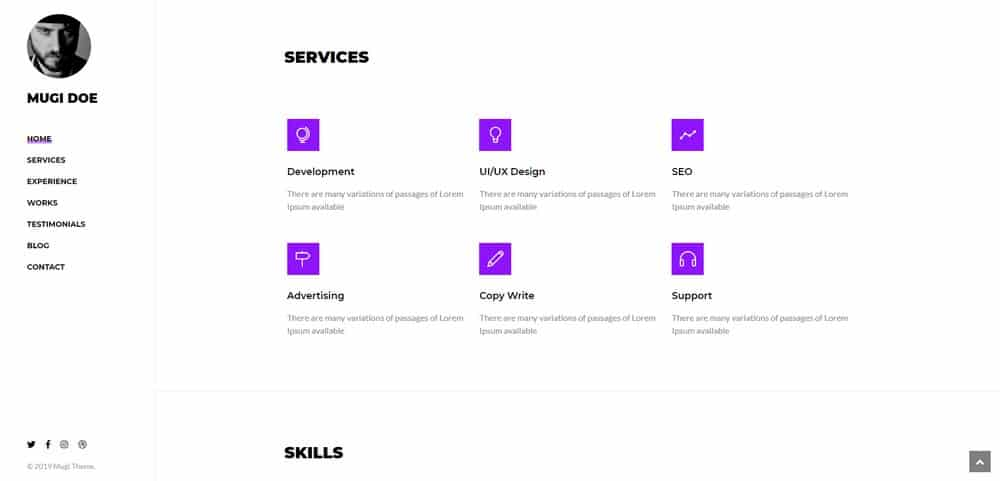 how-to-make-resume-website-services