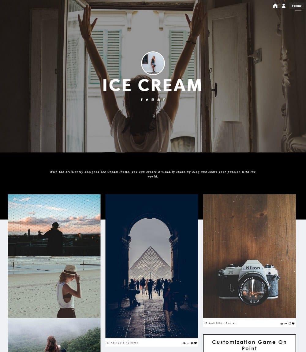 icecream-travel-tumblr-theme