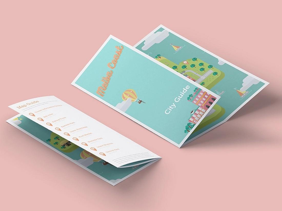 illustratated brochure