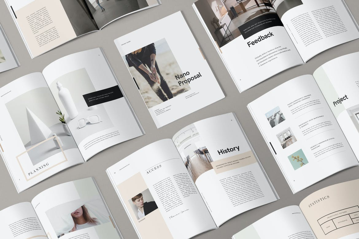 25+ InDesign Brochure Templates (Free Layouts for 25) - Theme Junkie Regarding Brochure Template Indesign Free Download