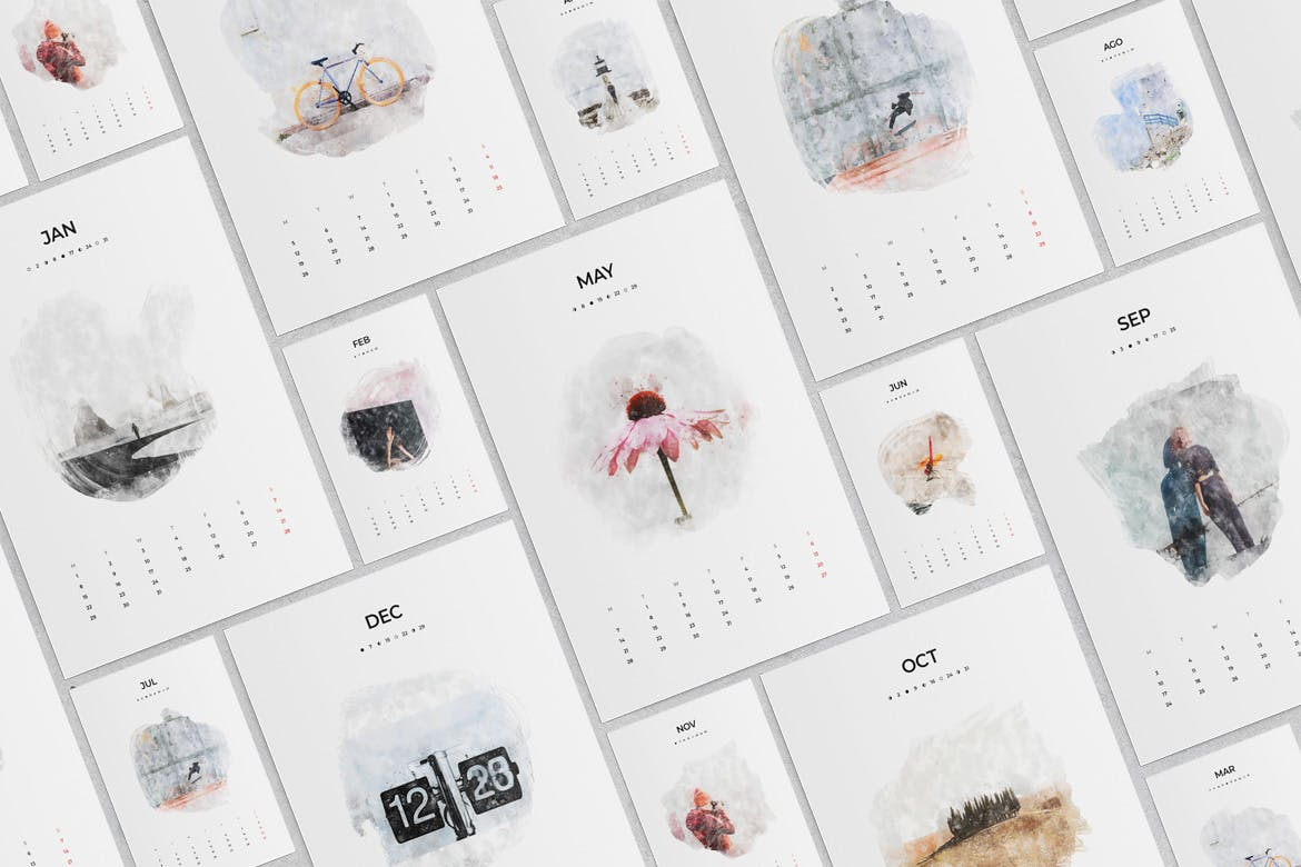 Adobe Indesign Calendar Template 2021 Pictures