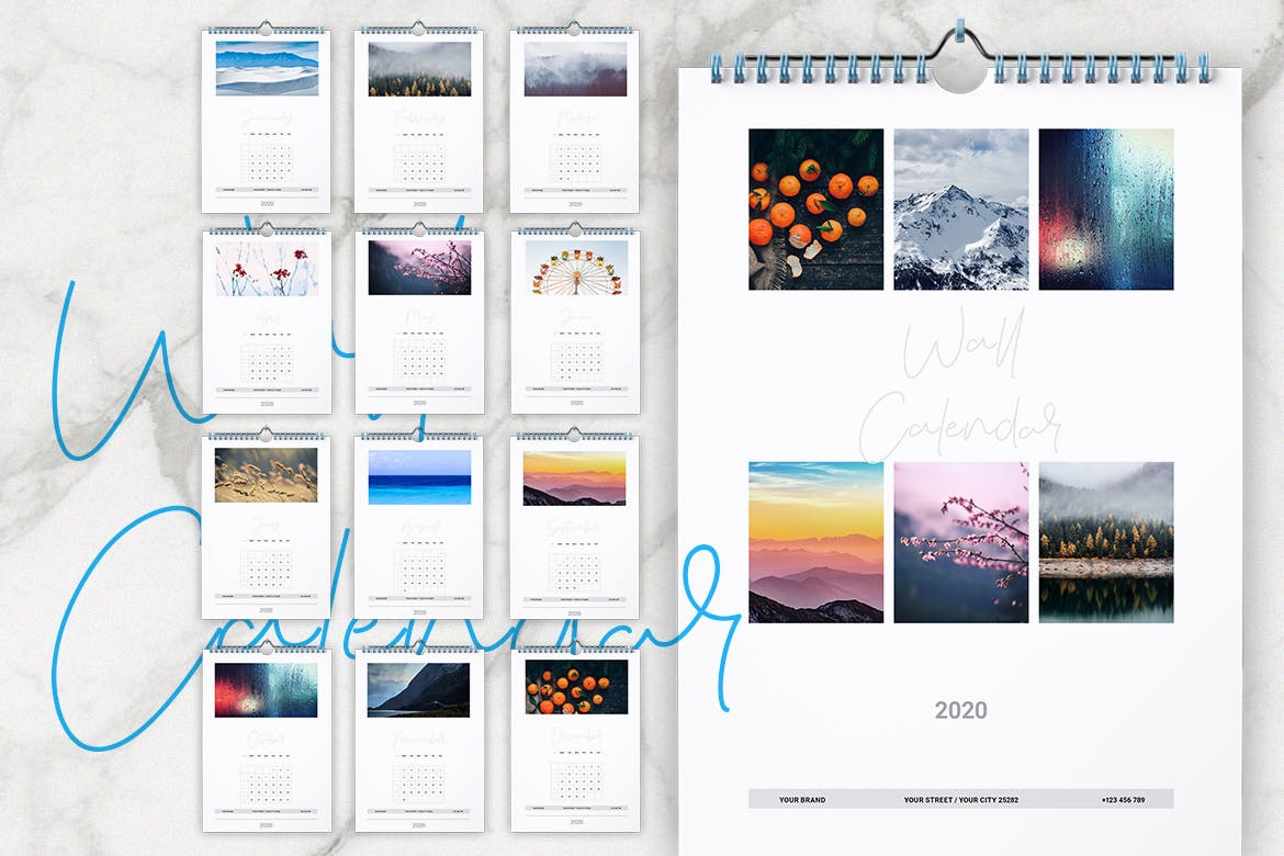 Adobe Indesign Calendar Template 2021 Images
