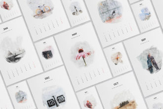 20+ Best InDesign Calendar Templates for 2020/2021