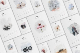 25+ Best InDesign Calendar Templates for 2021