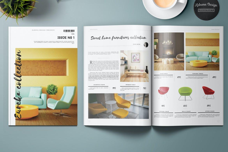 MOCKUPS para catálogos editables en indesign