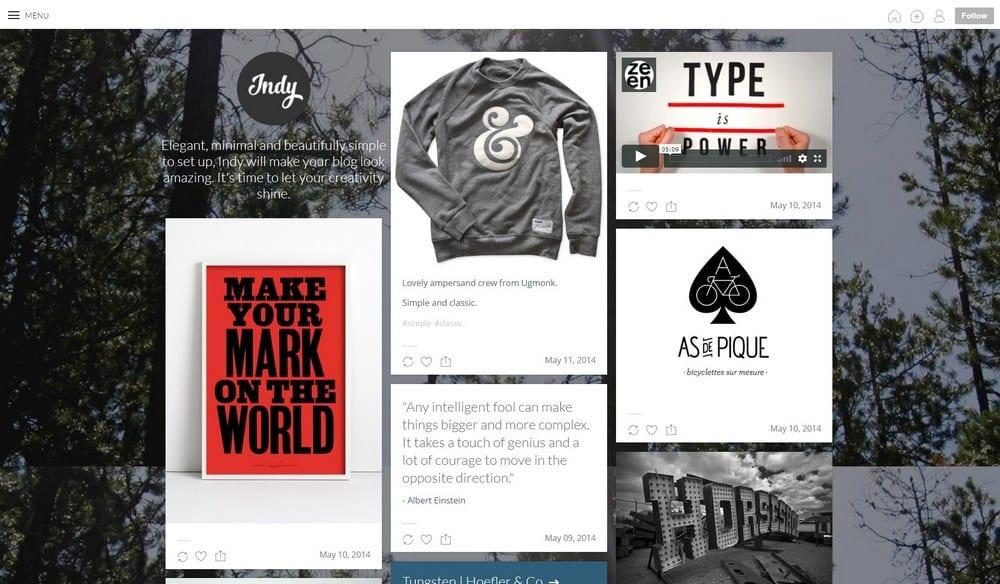 indy-portfolio-tumblr-theme
