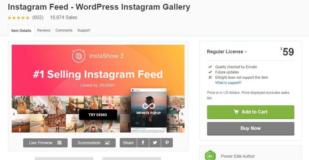 plugin umpan instagram