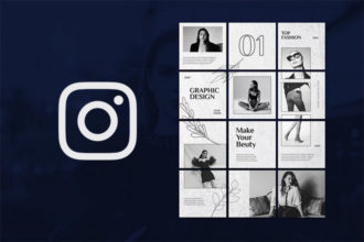 25+ Top Instagram Grid Template PSDs for 2021