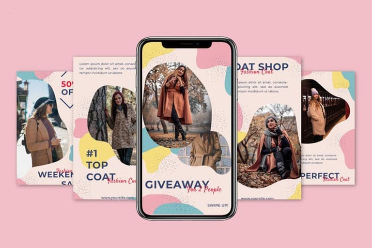 20+ Best Instagram Templates (Post, Story & Profile) 2020