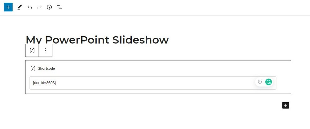 install powerpoint embed plugin 4