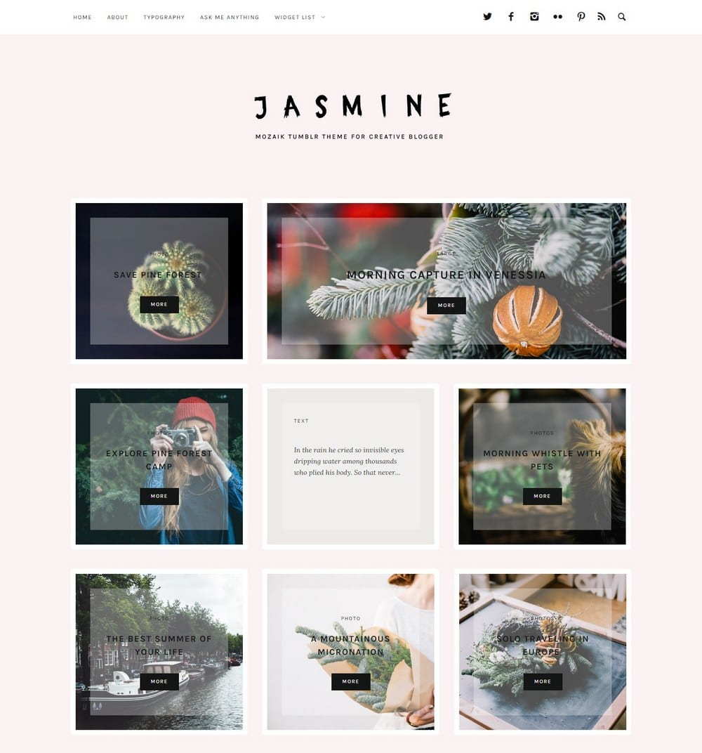 jasmine-cute-tumblr-theme