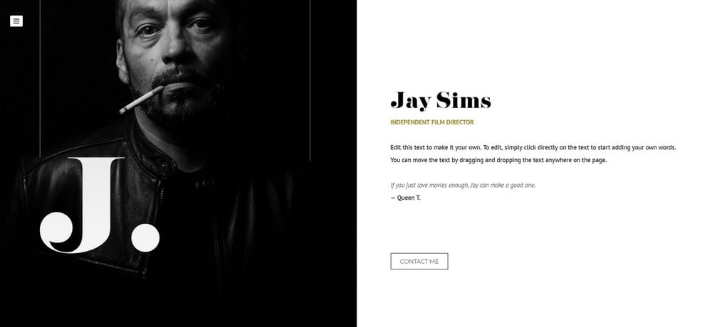 jay sims-weebly-theme