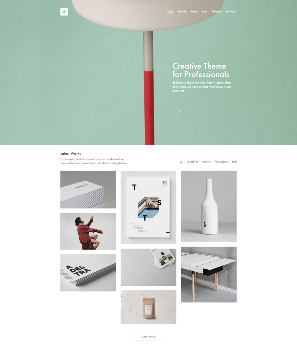 kalium-designer-wp-theme