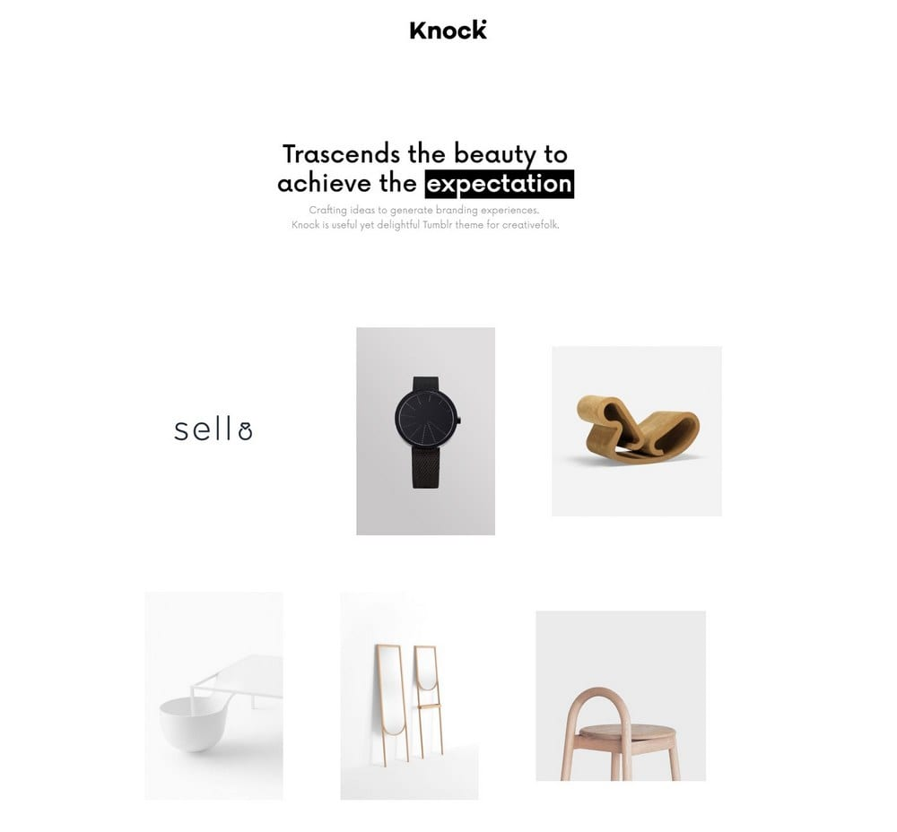 knock-grid-tumblr-theme