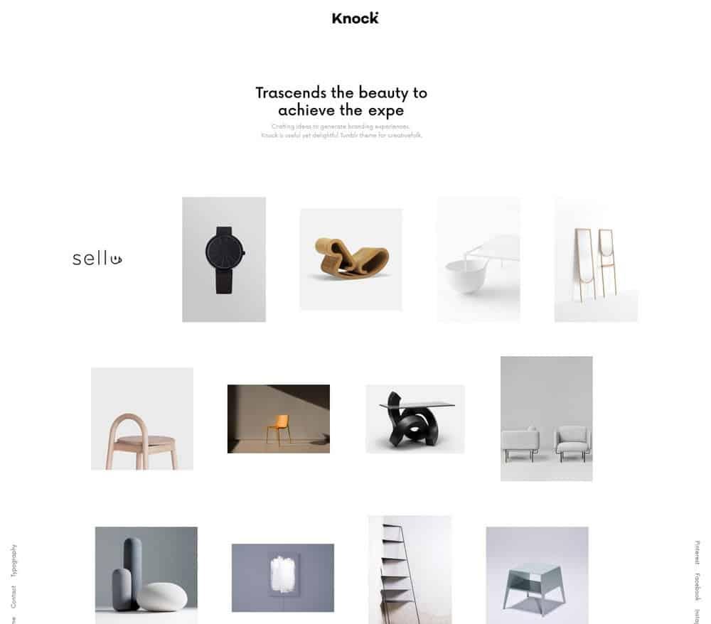 knock-minimal-tumblr-theme