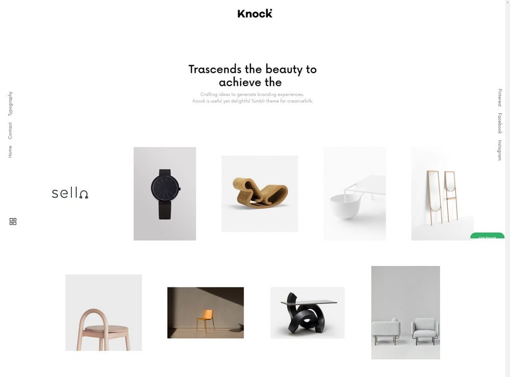 knock-portfolio-tumblr-theme
