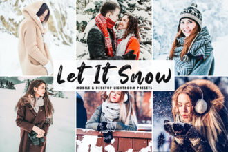 20+ Best Snow Lightroom Presets (+ Free Winter Presets) 2021