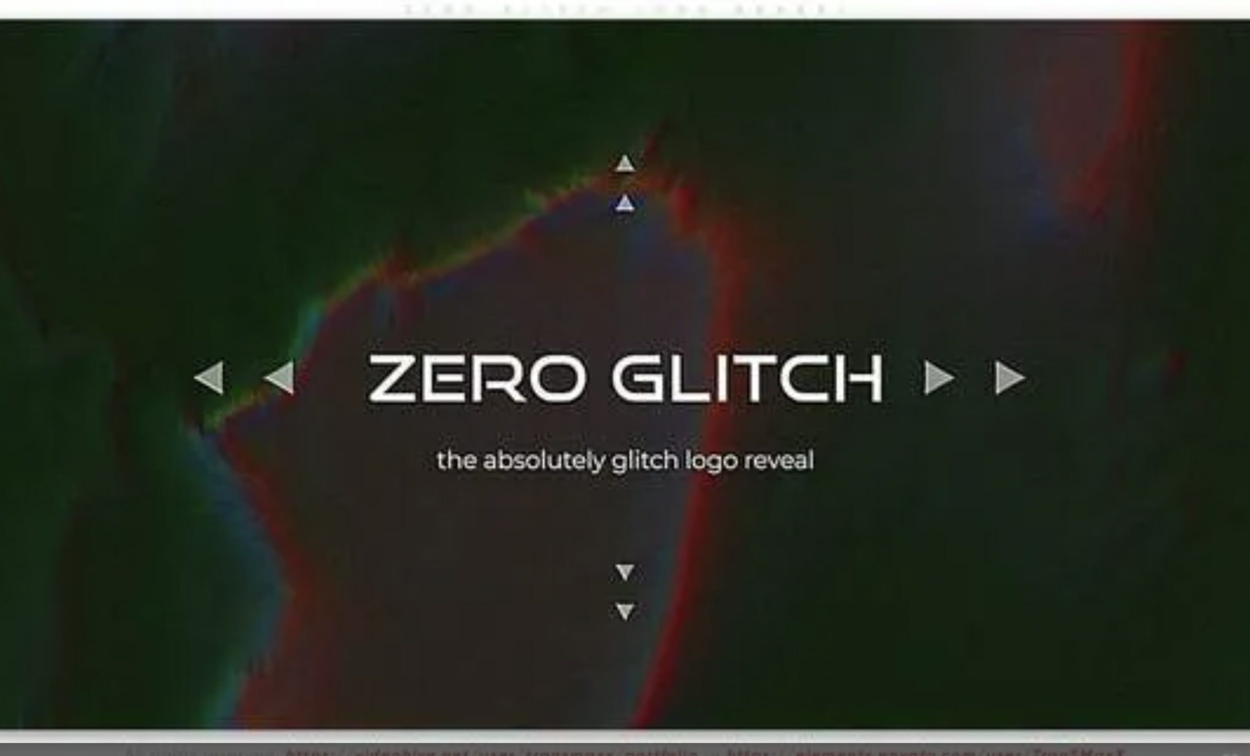 logo intro after effects