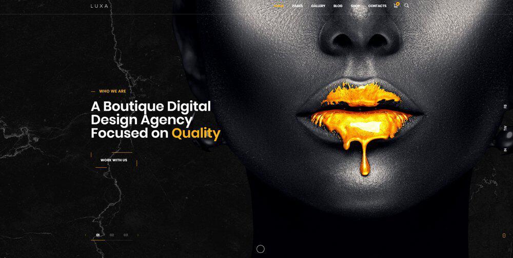 luxury-website-color