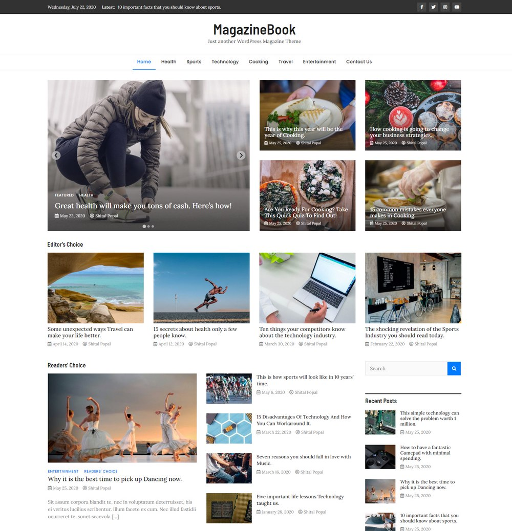magazinebook-free-easiest-wordpress-theme