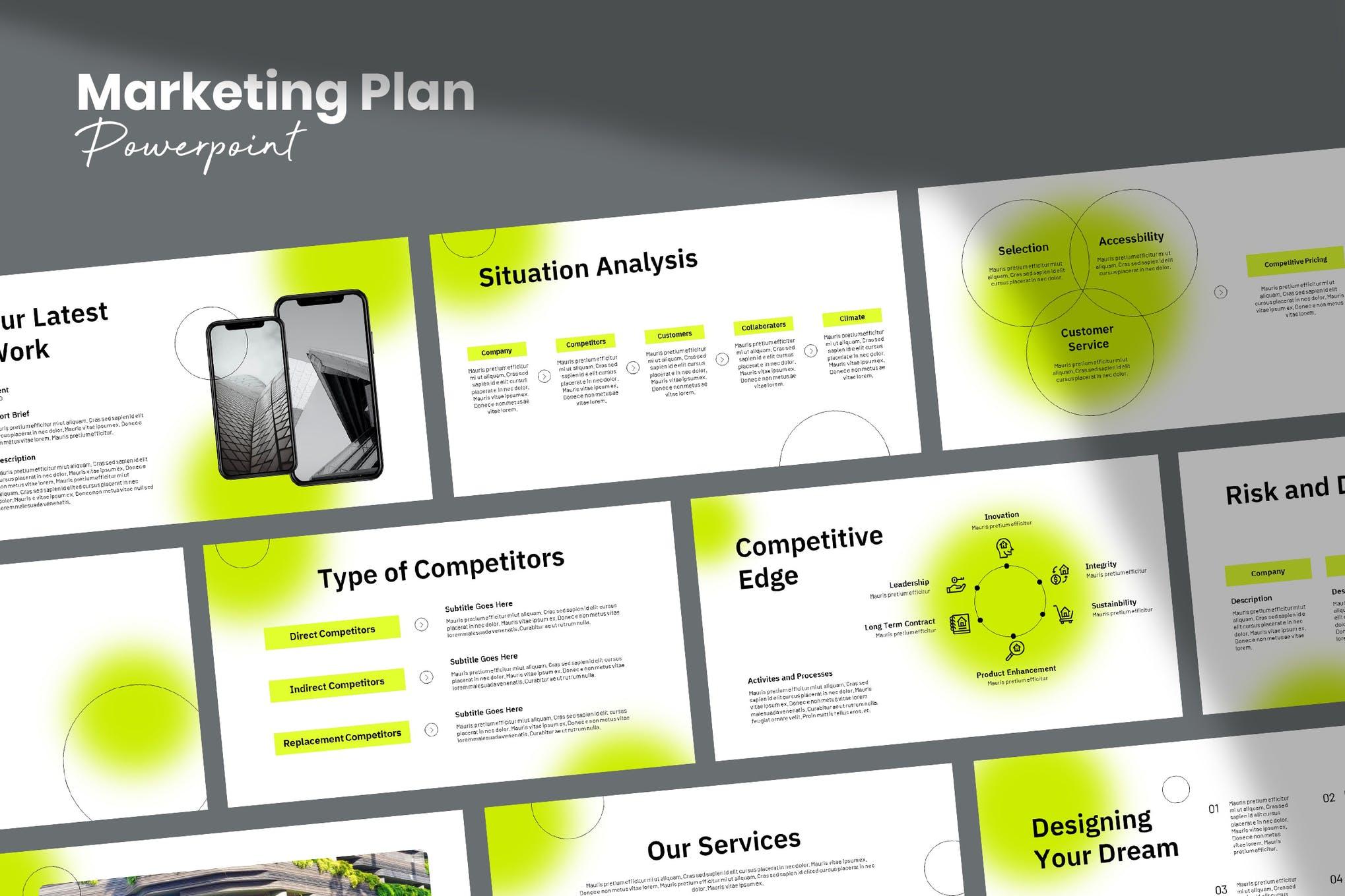 marketing plan powerpoint