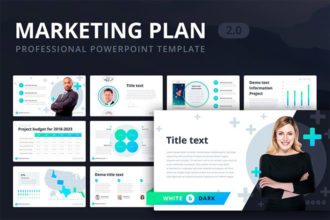 25+ Best Marketing Plan PowerPoint (PPT) Templates for 2020