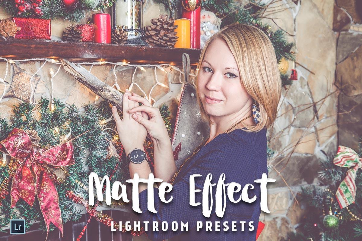 matte lightroom presets