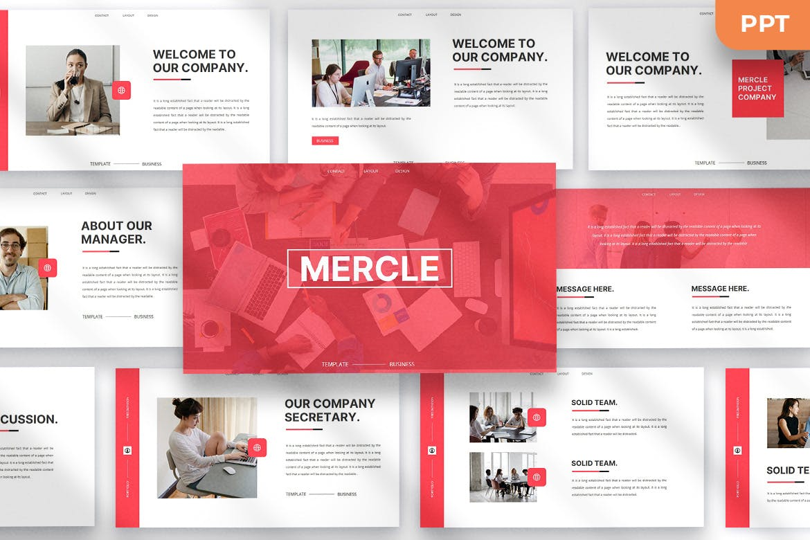 Mercle- Best PowerPoint template