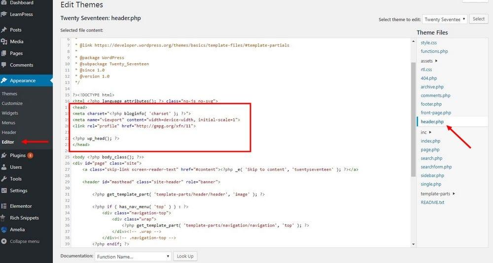 How To Add Meta Tags Keywords Descriptions In Wordpress Theme Junkie
