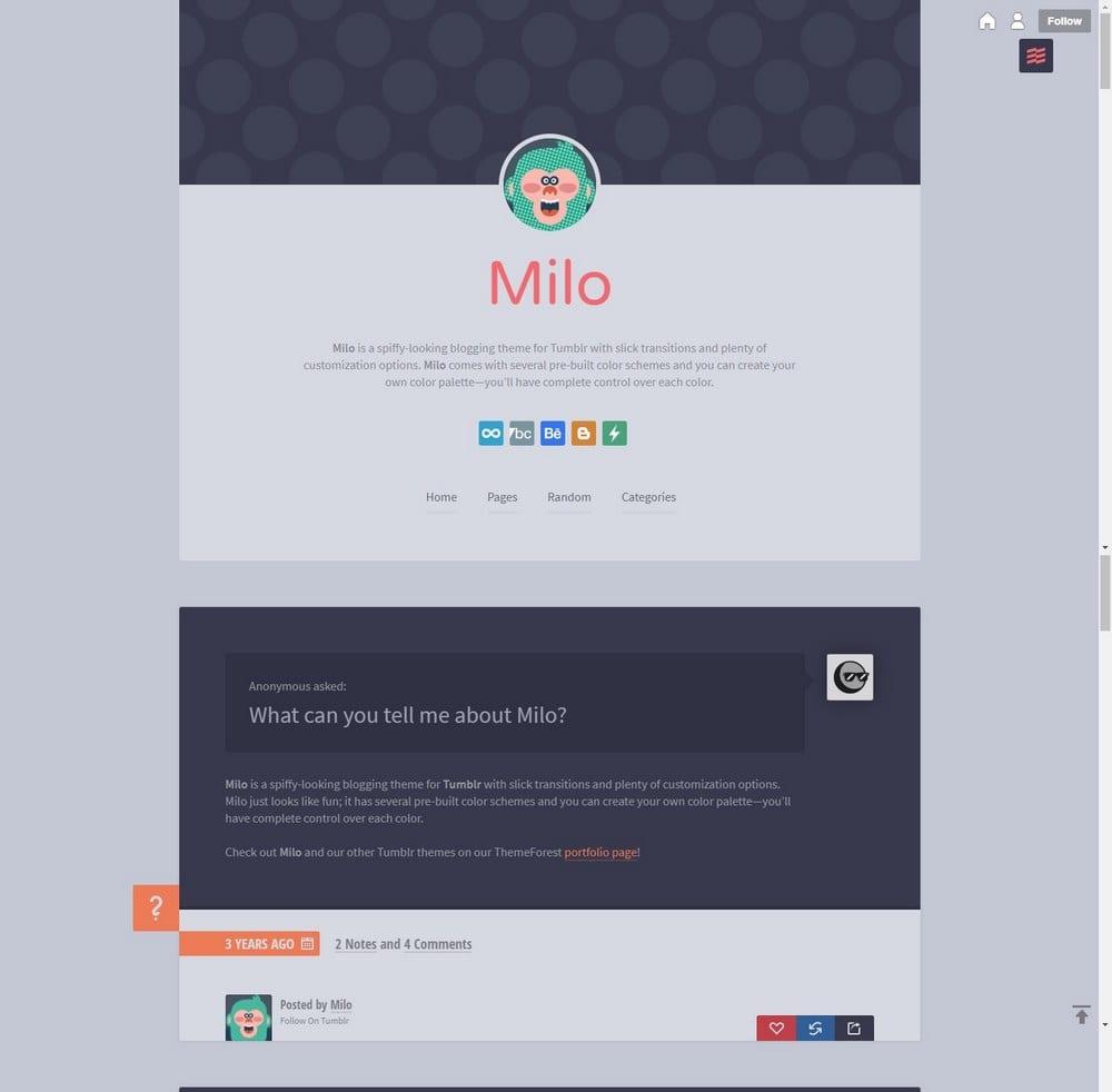 milo-cute-tumblr-theme