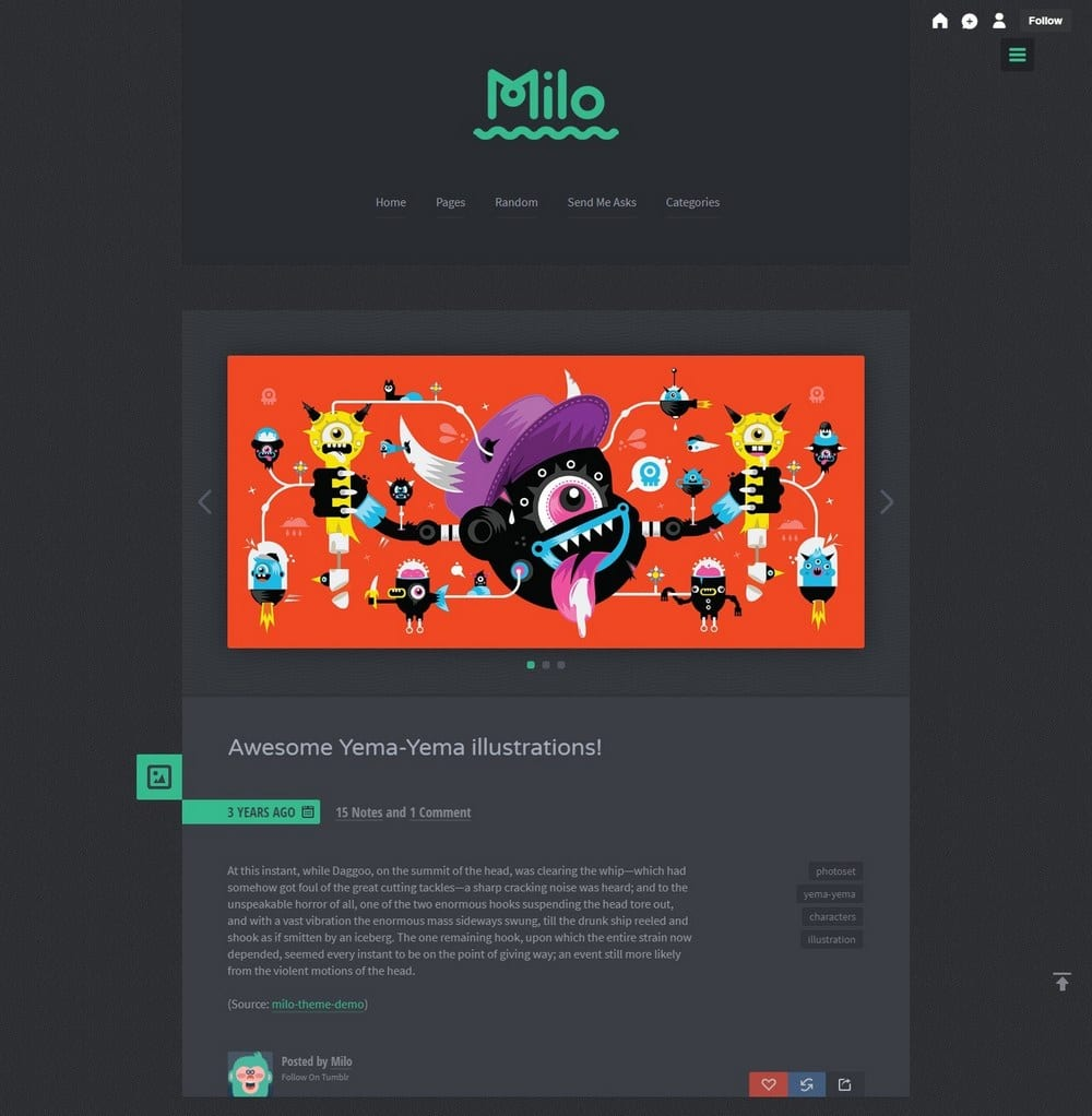 milo-space-tumblr-theme