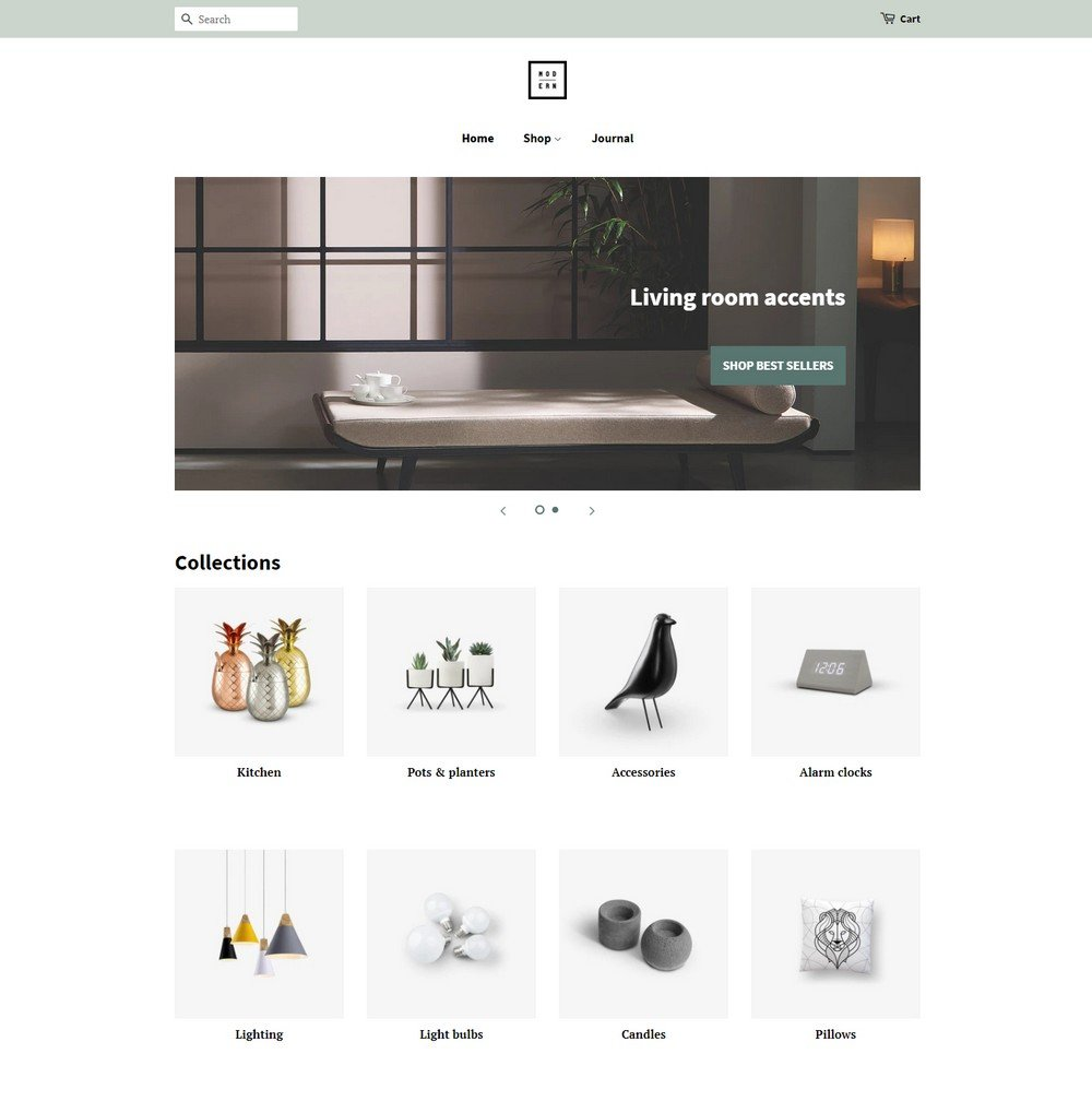 minimal- free shopify theme