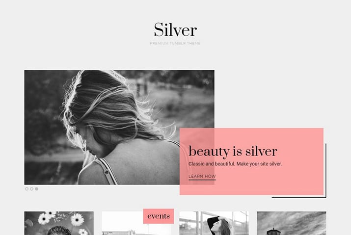 25+ Minimalist Tumblr Themes