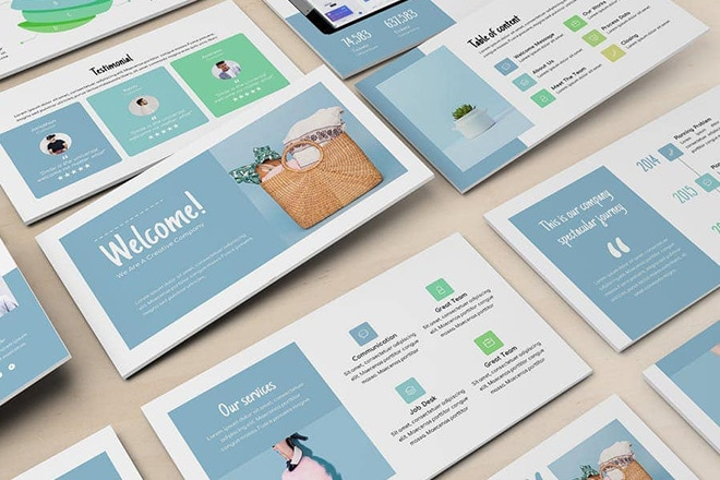 20+ Best Modern PowerPoint Templates 2020