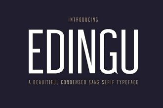 20+ Best Narrow, Condensed + Slim Fonts 2020
