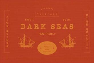 20 Best Nautical Fonts (Sea Fonts, Nautical Script Fonts + More) 2021