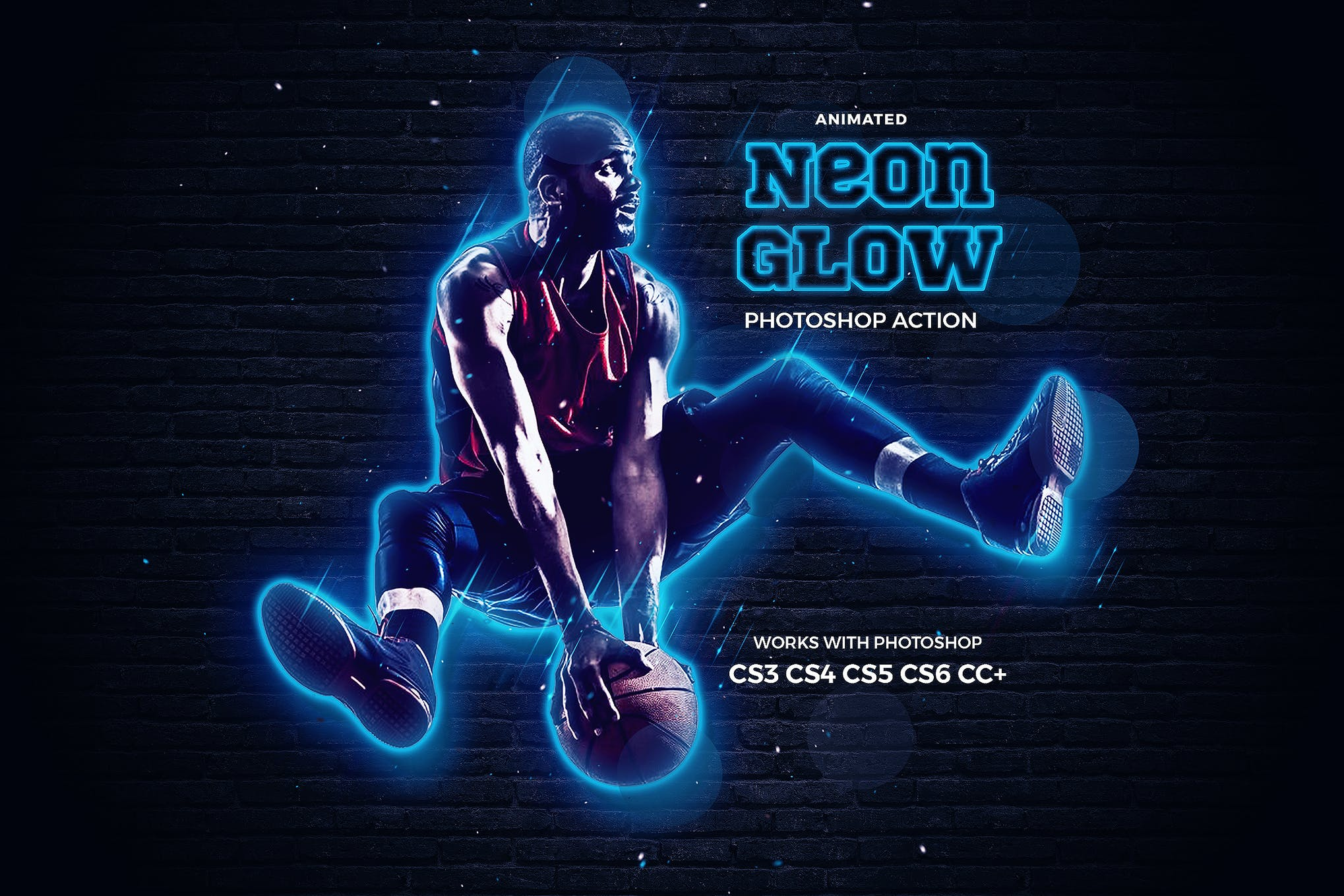 neon effect photoshop