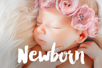 20+ Best Newborn Lightroom Presets (Free Baby Photography Presets) 2021