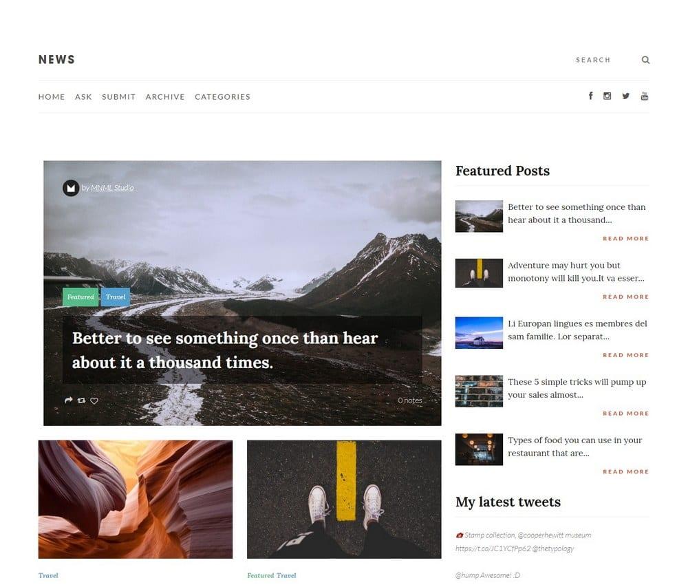 news-minimal-tumblr-theme
