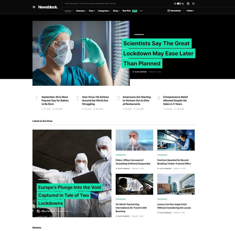 newsblock-wp-theme