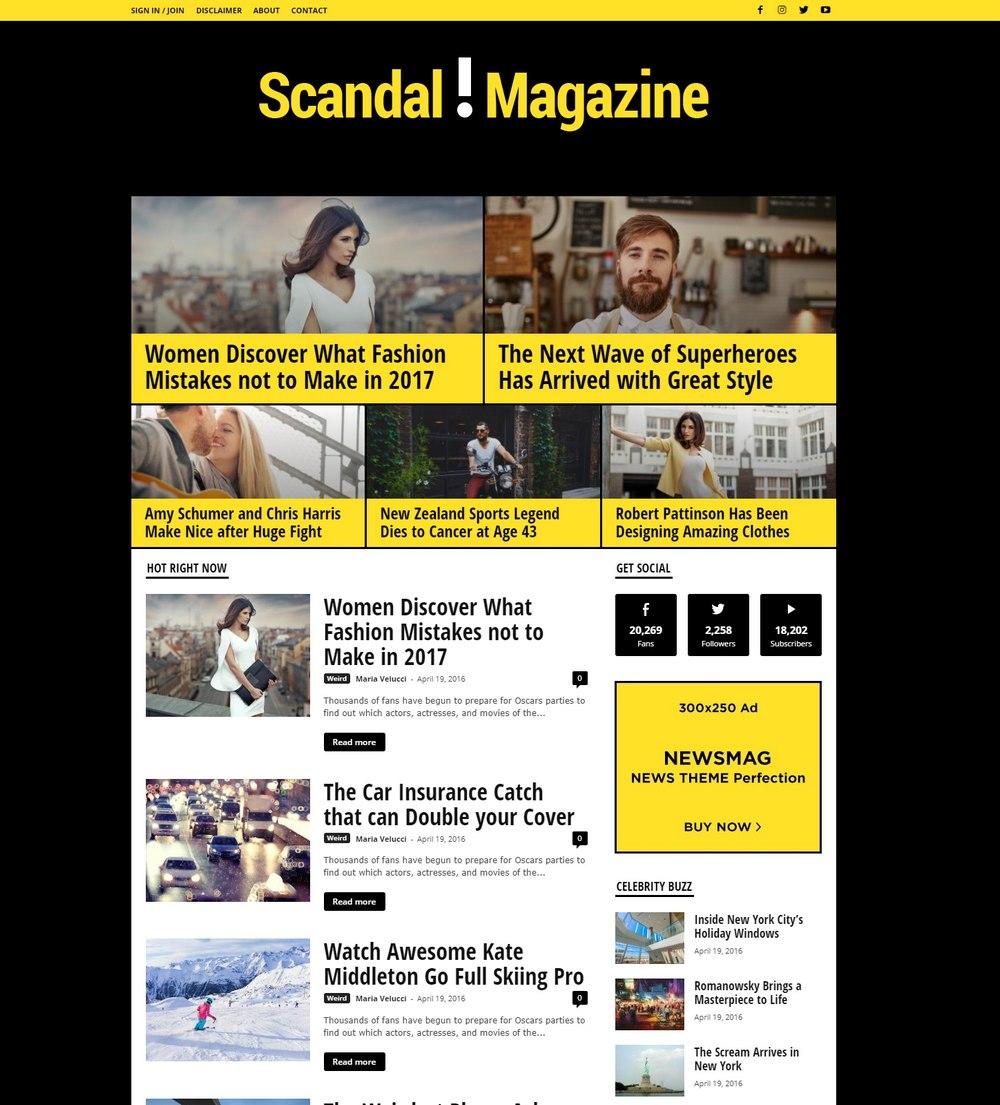 newsmag-wp-theme